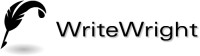 WriteWright Logo from LogoGarden
